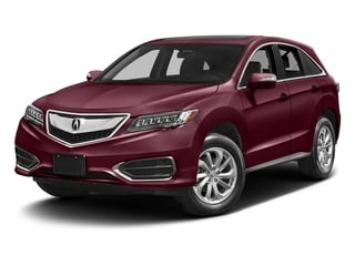 Basque Red Pearl II 2017 Acura RDX Pictures RDX Utility 4D 2WD V6 photos front view