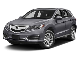 Lunar Silver Metallic 2017 Acura RDX Pictures RDX FWD photos front view