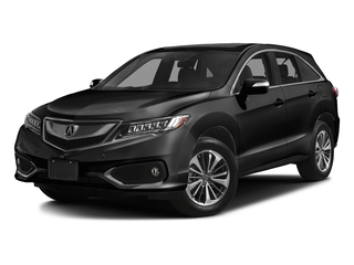 Crystal Black Pearl 2017 Acura RDX Pictures RDX Utility 4D Advance AWD V6 photos front view