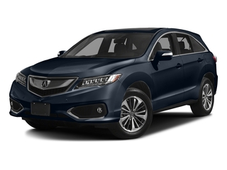 Fathom Blue Pearl 2017 Acura RDX Pictures RDX Utility 4D Advance AWD V6 photos front view