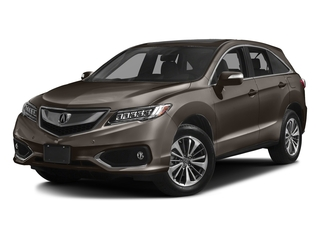Kona Coffee Metallic 2017 Acura RDX Pictures RDX Utility 4D Advance AWD V6 photos front view