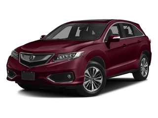 Basque Red Pearl II 2017 Acura RDX Pictures RDX Utility 4D Advance AWD V6 photos front view