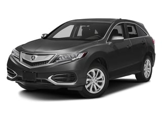 Modern Steel Metallic 2017 Acura RDX Pictures RDX AWD w/AcuraWatch Plus photos front view