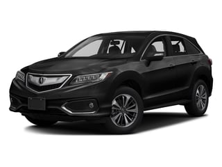 Crystal Black Pearl 2017 Acura RDX Pictures RDX FWD w/Advance Pkg photos front view