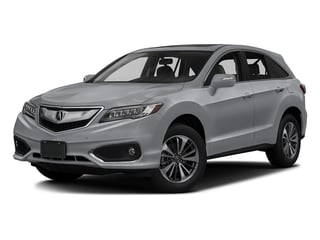 Lunar Silver Metallic 2017 Acura RDX Pictures RDX Utility 4D Advance 2WD V6 photos front view