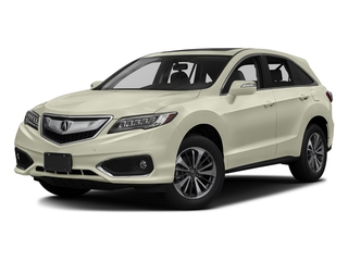 White Diamond Pearl 2017 Acura RDX Pictures RDX Utility 4D Advance 2WD V6 photos front view