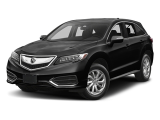 Crystal Black Pearl 2017 Acura RDX Pictures RDX AWD w/Technology/AcuraWatch Plus Pkg photos front view