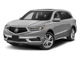 Lunar Silver Metallic 2017 Acura MDX Pictures MDX Utility 4D Technology AWD Hybrid photos front view