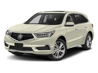 White Diamond Pearl 2017 Acura MDX Pictures MDX Utility 4D Technology AWD Hybrid photos front view