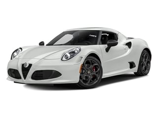 White 2017 Alfa Romeo 4C Coupe Pictures 4C Coupe 2D photos front view
