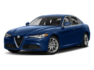 Montecarlo Blue Metallic 2017 Alfa Romeo Giulia Pictures Giulia AWD photos front view