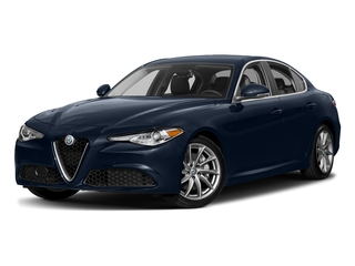Misano Blue Metallic 2017 Alfa Romeo Giulia Pictures Giulia AWD photos front view