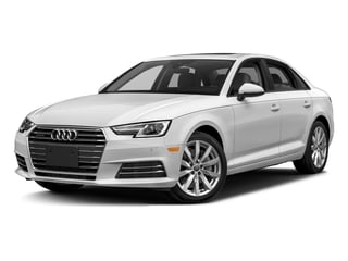 Glacier White Metallic 2017 Audi A4 Pictures A4 Sedan 4D 2.0T Premium AWD photos front view