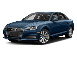 Scuba Blue Metallic 2017 Audi A4 Pictures A4 Sedan 4D 2.0T Premium AWD photos front view