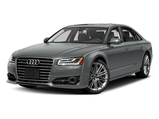 Monsoon Gray Metallic 2017 Audi A8 L Pictures A8 L Sedan 4D 4.0T L Sport AWD V8 Turbo photos front view