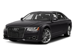 Oolong Gray Metallic 2017 Audi A8 L Pictures A8 L Sedan 4D 4.0T L Sport AWD V8 Turbo photos front view