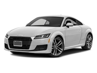 Glacier White Metallic 2017 Audi TT Coupe Pictures TT Coupe 2D AWD photos front view