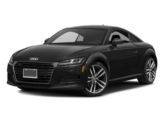 Brilliant Black 2017 Audi TT Coupe Pictures TT Coupe 2D AWD photos front view