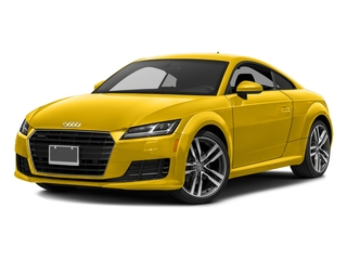 Vegas Yellow 2017 Audi TT Coupe Pictures TT Coupe 2D AWD photos front view