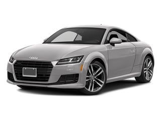 Florett Silver Metallic 2017 Audi TT Coupe Pictures TT Coupe 2D AWD photos front view