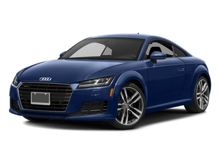 Scuba Blue Metallic 2017 Audi TT Coupe Pictures TT Coupe 2D AWD photos front view