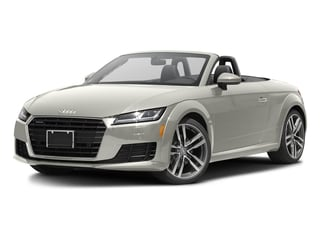 Ibis White/Black Roof 2017 Audi TT Roadster Pictures TT Roadster 2.0 TFSI photos front view