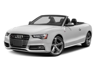 Glacier White Metallic/Black Roof 2017 Audi S5 Cabriolet Pictures S5 Cabriolet Convertible 2D S5 Premium Plus AWD photos front view