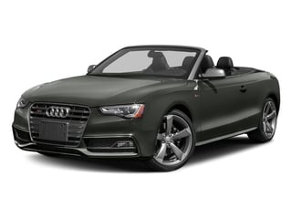 Daytona Gray Pearl Effect/Black Roof 2017 Audi S5 Cabriolet Pictures S5 Cabriolet Convertible 2D S5 Premium Plus AWD photos front view