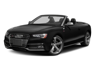 Brilliant Black/Black Roof 2017 Audi S5 Cabriolet Pictures S5 Cabriolet Convertible 2D S5 Premium Plus AWD photos front view