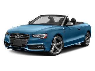 Sepang Blue Pearl Effect/Black Roof 2017 Audi S5 Cabriolet Pictures S5 Cabriolet Convertible 2D S5 Premium Plus AWD photos front view