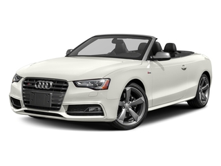Ibis White/Black Roof 2017 Audi S5 Cabriolet Pictures S5 Cabriolet Convertible 2D S5 Premium Plus AWD photos front view