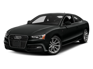 Mythos Black Metallic 2017 Audi A5 Coupe Pictures A5 Coupe 2.0 TFSI Sport Manual photos front view