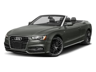 Daytona Gray Pearl Effect/Black Roof 2017 Audi A5 Cabriolet Pictures A5 Cabriolet Convertible 2D Sport AWD photos front view