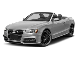 Florett Silver Metallic/Black Roof 2017 Audi A5 Cabriolet Pictures A5 Cabriolet Convertible 2D Sport AWD photos front view
