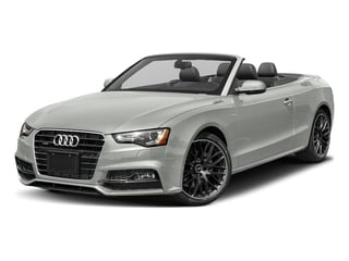 Suzuka Gray Metallic/Black Roof 2017 Audi A5 Cabriolet Pictures A5 Cabriolet Convertible 2D Sport AWD photos front view