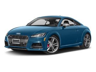 Sepang Blue Pearl Effect 2017 Audi TTS Pictures TTS Coupe 2D AWD photos front view