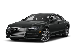 Mythos Black Metallic 2017 Audi A7 Pictures A7 Sedan 4D Competition Prestige AWD photos front view
