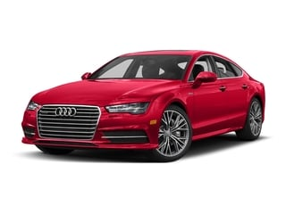 Misano Red Pearl Effect 2017 Audi A7 Pictures A7 Sedan 4D Competition Prestige AWD photos front view