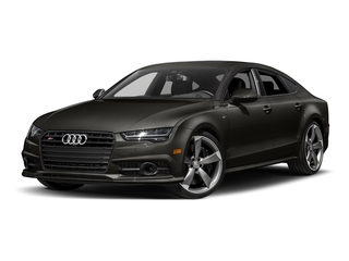 Havanna Black Metallic 2017 Audi S7 Pictures S7 Sedan 4D S7 Prestige AWD photos front view