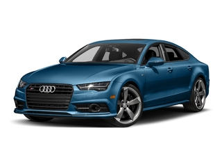 Sepang Blue Pearl Effect 2017 Audi S7 Pictures S7 Sedan 4D S7 Prestige AWD photos front view