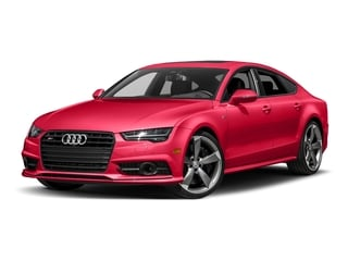 Misano Red Pearl Effect 2017 Audi S7 Pictures S7 Sedan 4D S7 Prestige AWD photos front view