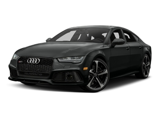 Mythos Black Metallic 2017 Audi RS 7 Pictures RS 7 Sedan 4D RS7 Performance AWD photos front view