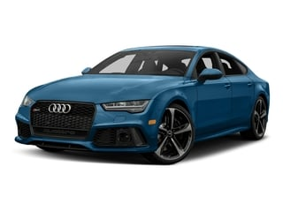 Sepang Blue Pearl Effect 2017 Audi RS 7 Pictures RS 7 Sedan 4D RS7 Performance AWD photos front view