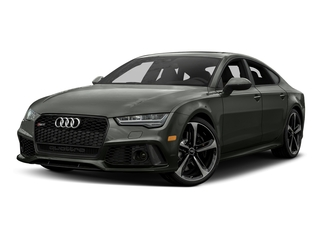 Daytona Gray Matte Effect 2017 Audi RS 7 Pictures RS 7 Sedan 4D RS7 Performance AWD photos front view