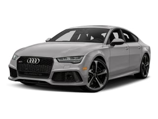 Florett Silver Metallic 2017 Audi RS 7 Pictures RS 7 Sedan 4D RS7 Performance AWD photos front view