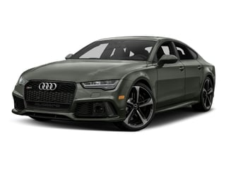 Nardo Gray 2017 Audi RS 7 Pictures RS 7 Sedan 4D RS7 Performance AWD photos front view