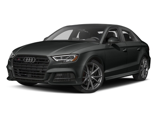 Mythos Black Metallic 2017 Audi S3 Pictures S3 Sedan 4D S3 Prestige AWD I4 Turbo photos front view
