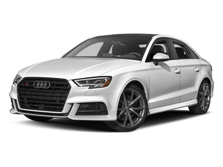 Glacier White Metallic 2017 Audi S3 Pictures S3 Sedan 4D S3 Prestige AWD I4 Turbo photos front view