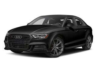 Brilliant Black 2017 Audi S3 Pictures S3 Sedan 4D S3 Premium Plus AWD I4 Turb photos front view