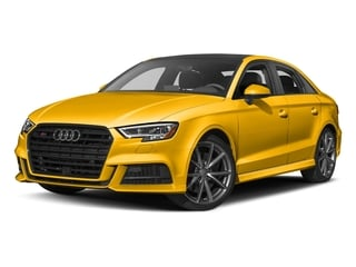 Vegas Yellow 2017 Audi S3 Pictures S3 Sedan 4D S3 Premium Plus AWD I4 Turb photos front view
